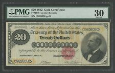 FR1178 $20 1882 GOLD NOTE PMG 30 VERY FINE WLM6559