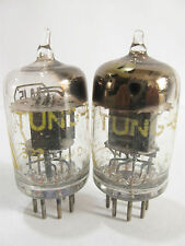 2 matched 1951 Tung-Sol JTL-6AJ5 (6AK5,5654,403B,6J1)tubes- TV7D tested@22, 22