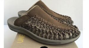 Keen Uneek Slide Dark Earth Brindle Sport Sandal Men's US sizes 8-14/NEW!!!