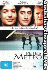 Pete's Meteor DVD NEW, FREE POSTAGE WITHIN AUSTRALIA REGION 4