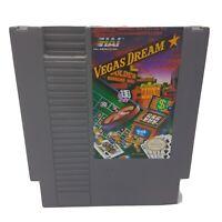NES VEGAS DREAM Nintendo - CLEANED & TESTED - Cart Only