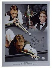 Ken Doherty Signed autograph 16x12 HUGE photo Snooker Sport AFTAL Memorabilia