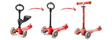 Micro Kickboard Mini 3in1 Deluxe Ages 1-5, Swiss-Designed more colors free ship