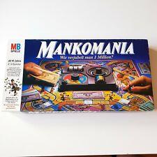 Mankomania MB Spiele Blaue Ausgabe 1985 guter Zustand Vollständig