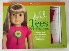 American Girl Doll Tees Felt Fashions Craft Kit with 1 American Girl Doll Shirt