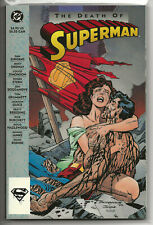 The Death Of Superman TPB 1st Print VF+ 1993 DC COMICS