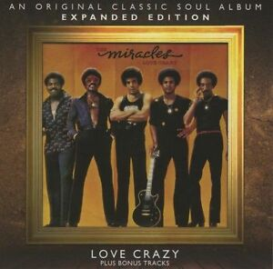 The Miracles - Love Crazy     New cd