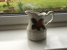 Vintage J G Meakin Sterling Colonial Jug Decorated With An Orange