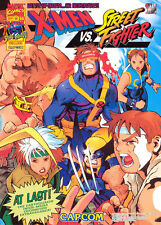 1997 Capcom Secret File #14: X-Men Vs. Street Fighter