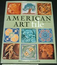 American Art Tile by Norman Karlson (1998, Hardcover)