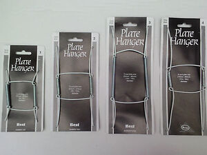 """Plate Hanger Plastic Coated Wire 5"""" to 6""""  6"""" to 8""""  8"""" to 12"""" or 9"""" to 14"""""""