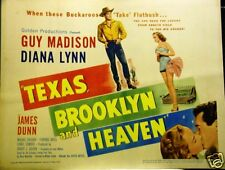 TEXAS BROOKLYN and HEAVEN 1948 ORIG. SET OF LOBBY CARDS