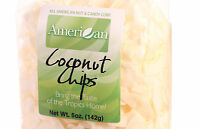 5 Oz Gourmet Style Bag of Unsweetened Coconut Chips (55.9)