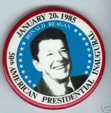 Ronald REAGAN 1985 pin INAUGURATION 50th INAUGURAL