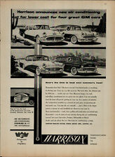 1956 Harrison Air Conditioning GM Cars Beat Next Summers Heat VTG Print Ad 2460