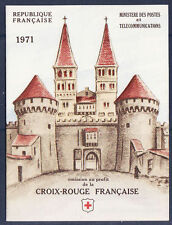timbres France carnet croix rouge  1971 **