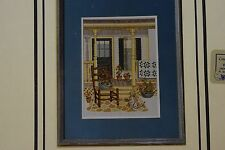 Linda Myers Granny's Front Porch #40 Counted Cross Stitch Chart