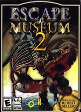 ESCAPE THE MUSEUM 2 (Hidden Object PC Game) BRAND NEW SEALED SHIPS NEXT DAY