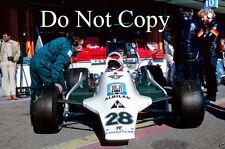 CLAY REGAZZONI WILLIAMS fw07 Gran Premio di Spagna 1979 fotografia 2