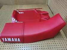 """YAMAHA XT600 SEAT COVER 1984 TO 1989 MODEL + STRAP [Y-129] """"red"""""""