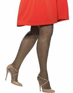 Hanes Silk Reflections Plus Sheer Non-Control Top Enhanced Toe Pantyhose Nylon