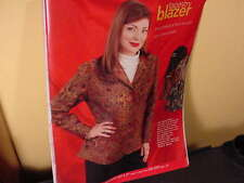 "New-old Stock ""JMS"" Tapestry Blazer 32W Dry Clean Imported Pattern: Paisley"