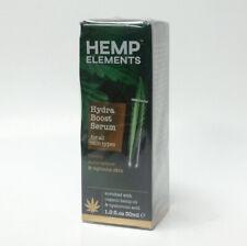 Frulatte Hemp Elements Hydra Boost Serum 1 oz w/ Hyaluronic Acid All Skin Types