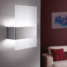 EGLO 86995 Nikita lampada applique x parete in vetro e metallo cromato bianco