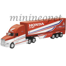 NEW RAY 10893 TEAM HONDA HRC KENWORTH TRAILER 1/32 RED / WHITE