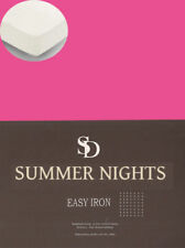 Sábanas y fundas de cama sin marca color principal rosa