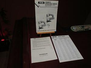 Ryobi Owners Manual For BT3000/BT3100,Table Jig Saw JSE-60 JS-60 Registration