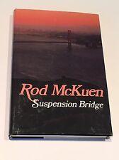 ROD MCKUEN SIGNED & DATED Suspension Bridge BOOK