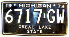 Collectible Michigan License Plates
