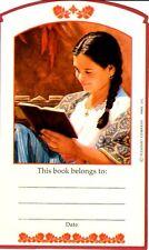 Retired American Girl Josefina Bookplate~Herb Gathering~Book Plate Sticker 2003!