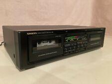 Onkyo Ta-Rw303 dual-cassette deck (Made in Japan)