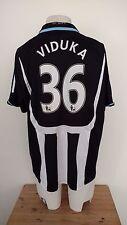Mark Viduka #36 Newcastle United Adidas Football Shirt season 2007/08 size XL