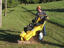 Self Propelled PowerTek 20 HP Kohler Stump Grinder Made In The USA