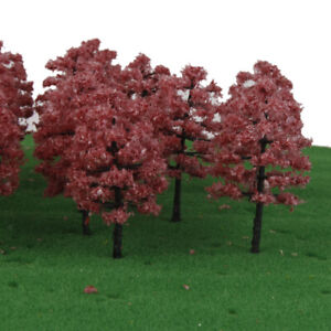 20 Model Trees Train Railway Scenery Wargame Diorama Landscape 1:100 HO OO