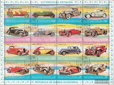 Guinea Ecuatorial 1095-1110 hoja miniatura (edición completa) usado 1977 viejos