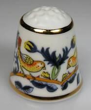 Fingerhut Porzellan England Rose chintz William Morris neu