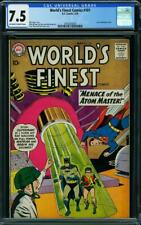 World's Finest Comics 101 CGC 7.5 -- 1959 -- Atom Master Top 16 copy #2059268020