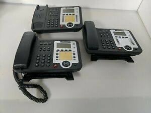 Lot of 3 IPitomy IP320-P SIP IP Phone