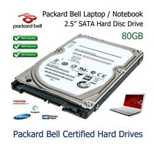 "80GB 2.5"" SATA Hard Drive Upgrade Replacement for Packard Bell EasyNote BG46"