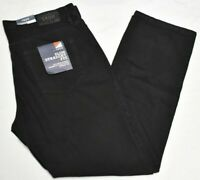 Izod Jeans Men's Size 38x32 Slim Straight Fit 5-Pocket Cotton Denim Black P581