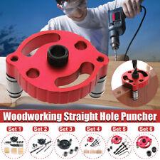 Pocket Hole Jig Pasador Tornillo Taladro Kit 6/8/10mm herramienta de guías de Carpintería Ebanistería
