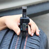 Digital LCD Depth Gauge Car Tyre Tire Tread Brake Pad Shoe Pad Wear 0-25mm