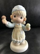"""Precious Moments #635049 """"Scoop'in Up Some Love� Dsr Exclusive Le w/box"""