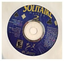 Solitaire Master 2 PC Brand New Cd Rom Sealed In A Paper Sleeves - XP