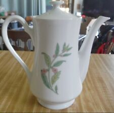 Vintage Shafford Herbs And Spices Coffee Pot / Teapot 1970s