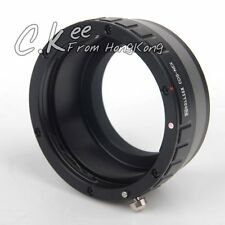 Canon EOS EF Lens to Sony NEX Adapter A7 A7R A7S A6300 A5100 A6000 A5000 A3000